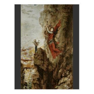 Sappho en Lefkada de Gustave Moreau Tarjeta Postal