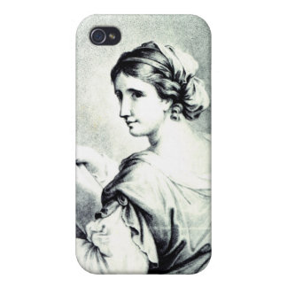 Sappho, engraved by Pye, 1774 Case For iPhone 4