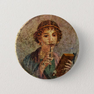 Sappho from Lesbos Pinback Button