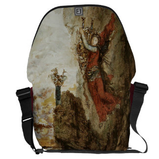 Sappho in Lefkada by Gustave Moreau Courier Bag