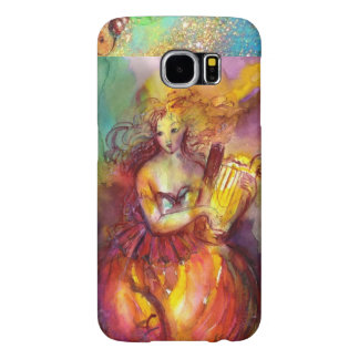 SAPPHO PLAYING LYRA / DANCE, MUSIC AND POETRY SAMSUNG GALAXY S6 CASES