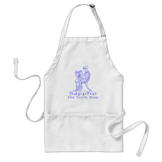 Sappho: The Tenth Muse Adult Apron