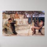 Sappho y Alcaeus Posters