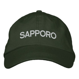 Sapporo Cap Embroidered Hat