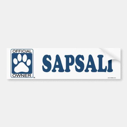 SAPSALI_Blue Etiqueta De Parachoque