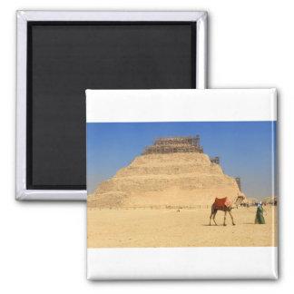 Saqqara pyramid Egypt Africa Magnet