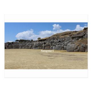 Saqsaywaman Ancient Megalithic Site Postcard