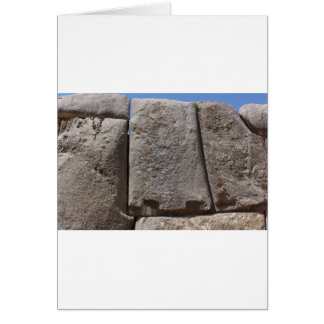 Saqsaywaman Lost Alien Technology Card