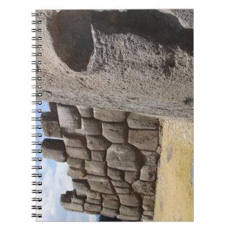 Saqsaywaman Snake Pictogram Notebook
