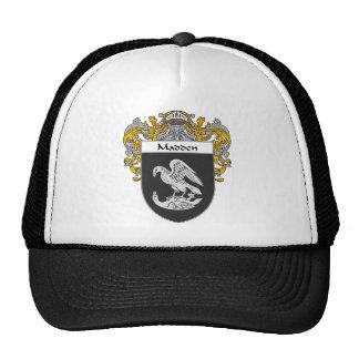 Saque de quicio el escudo de armas cubierto gorro de camionero
