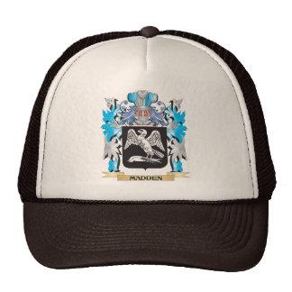 Saque de quicio el escudo de armas - escudo de la gorros bordados