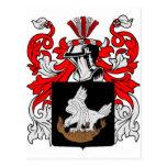 Saque de quicio el escudo de armas tarjetas postales