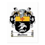 Saque de quicio el escudo de la familia tarjetas postales
