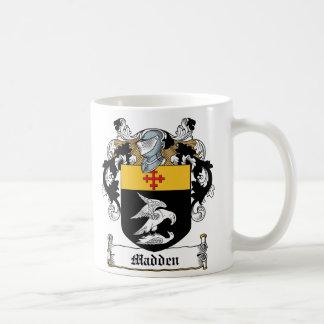 Saque de quicio el escudo de la familia tazas de café
