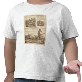 Saque de quicio la residencia, trabajos de agua camisetas