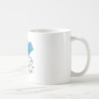 Saque los enredos taza básica blanca
