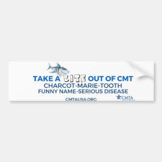 saque una mordedura de CMT Pegatina Para Auto