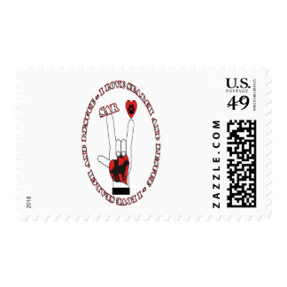 SAR ASL SEARCH AND RESCUE STAMPS