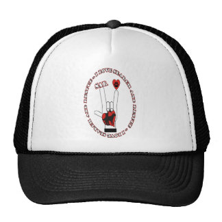 SAR ASL SEARCH AND RESCUE TRUCKER HAT