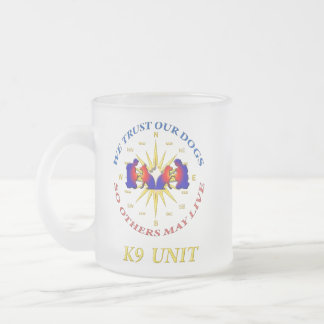 SAR K9 Mug (Trailing) Frosted