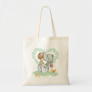 Sar Kay 'With Love' Mint Tote Bag