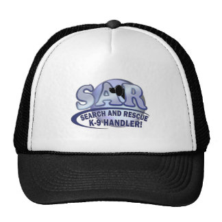 SAR SEARCH AND RESCUE K-9 HANDLER TRUCKER HAT