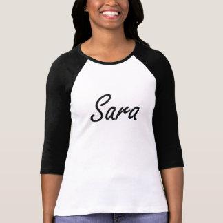 Sara artistic Name Design T-Shirt