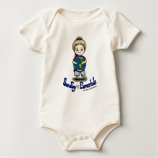 Sara Fay and Globe Organic Cotton Bodysuit