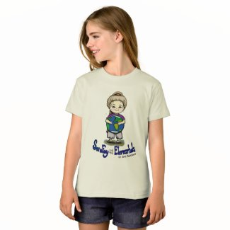 Sara Fay and Globe Organic Cotton Girl's T-Shirt