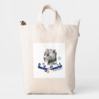 Sara Fay and the Elemental Recycled Canvas Tote Duck Bag