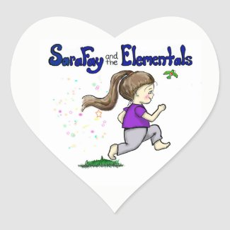 Sara Fay and the Elementals Stickers for Children