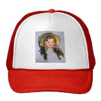 Sara in a Bonnet by Mary Cassatt Trucker Hat