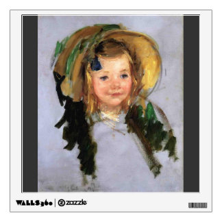 Sara in a Bonnet by Mary Cassatt Room Graphic