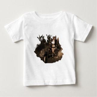 Sara in Desert - Old Photo Baby T-Shirt
