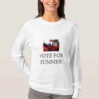 Sara Palin  VOTE FOR SUMMER (Napolian Dynamite) T-Shirt