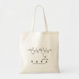Sara peptide name bag
