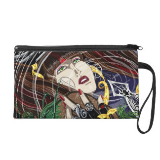 Sara Rose At The Pond Clutch Wristlet