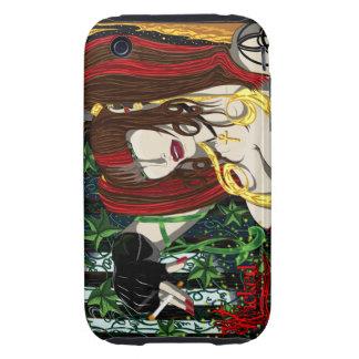 Sara Rose II iPhone3G Tough Case Tough iPhone 3 Cases