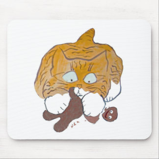 Sara, the Kitten, Gingerbread Crunch Mouse Pad