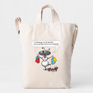 Sara the Tmwy needs no replicator. Duck Bag