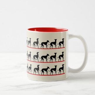 Saraband of FOLDS Two-Tone Coffee Mug