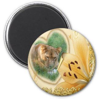 sarabi-00255 2 inch round magnet