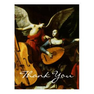 Saraceni's Saint Cecilia Post Card