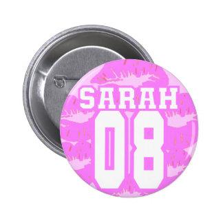 Sarah 08 - Read My Lips Pinback Button