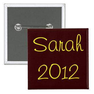 Sarah 2012 button