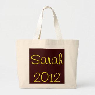 Sarah 2012 large tote bag