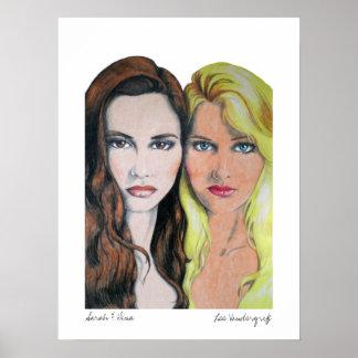 Sarah and Dina Posters