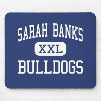 Sarah Banks Bulldogs Middle Wixom Michigan Mouse Pad