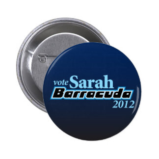 Sarah Barracuda 2012 Button