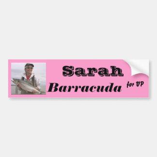 Sarah Barracuda for VP Bumper Sticker